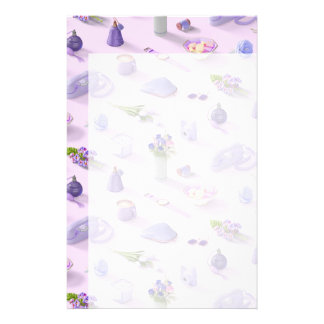 Girl's Purple Dream Stationery