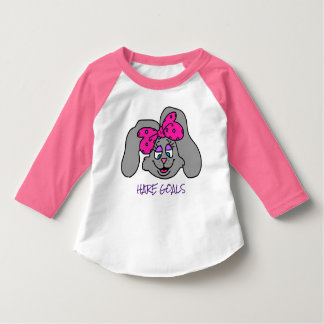 Girls rabbit shirt-hare goals T-Shirt