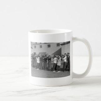Girls Rifle Team, 1916 Coffee Mug