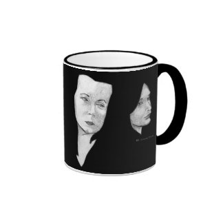 Girls Ringer Coffee Mug