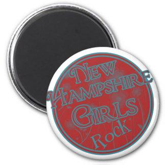 Girls Rock! 2 Inch Round Magnet