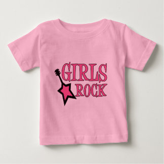 Girls Rock! Baby T-Shirt