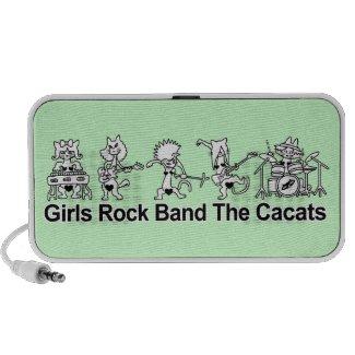 Girls Rock Band zazzle_doodle