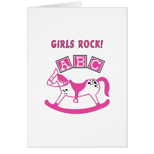 Girls Rock Card