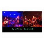 Girls Rock Post Card