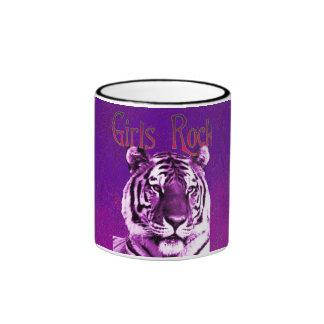 Girls Rock Tiger Mug