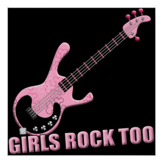 Girls Rock Too - Poster
