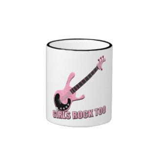 Girls Rock Too - Ringer Mug