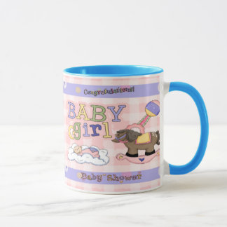Girls Rocking Horse Mug