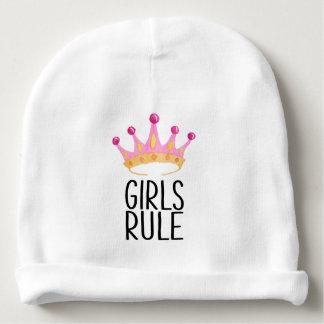 Girls Rule Baby Beanie