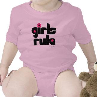 Girls Rule baby   Bodysuits