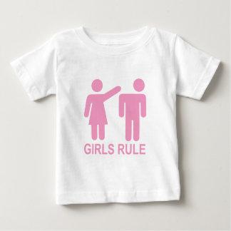 Girls Rule Baby T-Shirt