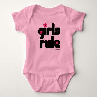 Girls Rule baby Tee Shirt