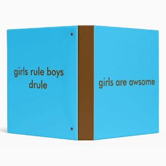 girls rule binder
