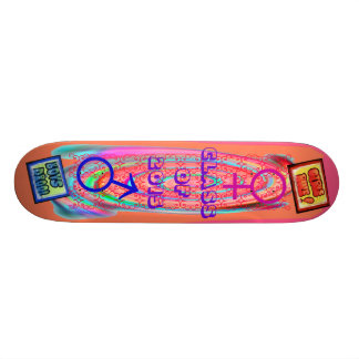 Girls Rule - Boys Drool Skateboard Deck