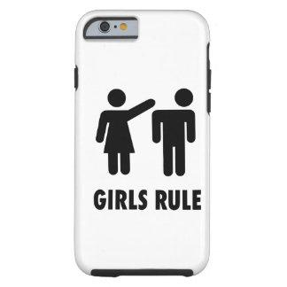 Girls Rule Tough iPhone 6 Case