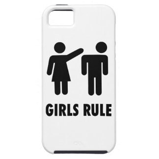 Girls Rule iPhone 5 Covers