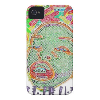 girls selfie Paint iPhone 4 Covers