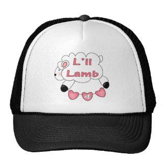Girls Sheep 4th Birthday Gifts Trucker Hat
