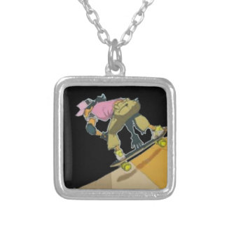 Girls Skate Too - Necklace