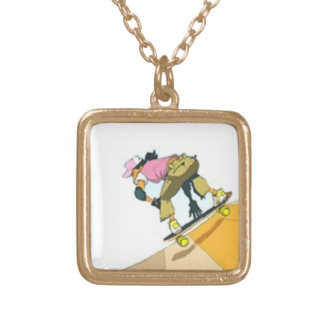 Girls Skate Too! Necklace