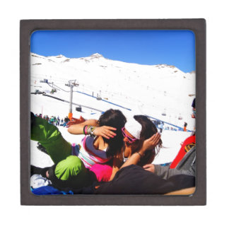 Girls Ski slope Gift Box