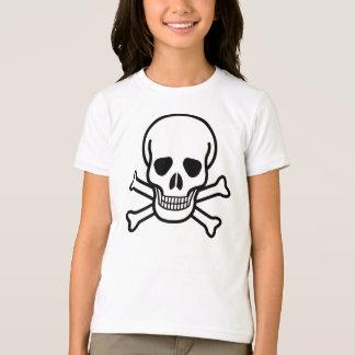 Girls Skull and Cross Bones T-Shirt