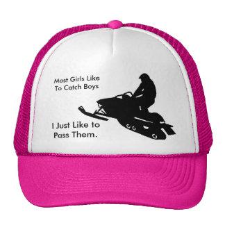 Girls Snowmobile Hats