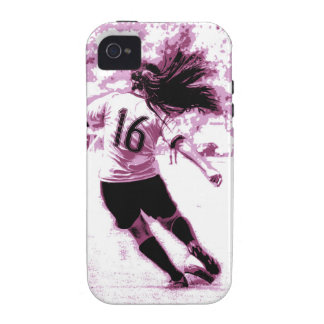 Girls Soccer Case-Mate iPhone 4 Covers