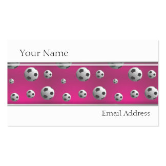 GIRLS SOCCER PLAYER PROFILE CARDS TEMPLATE BUSINESS CARD TEMPLATE
