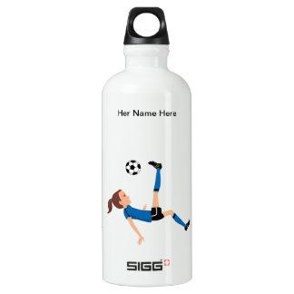 Girl's Soccer Rugged Water Bottle