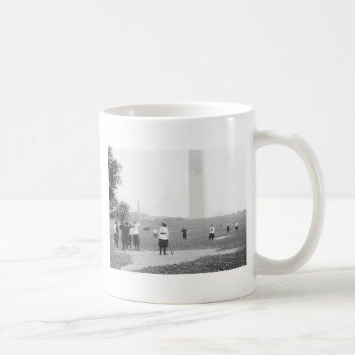 Girls Softball, 1919 Coffee Mug