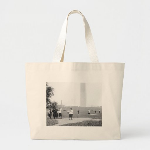 Girls Softball, 1919 Jumbo Tote Bag