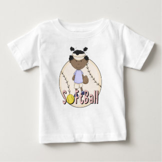 Girls Softball African American t-shirts and Gifts