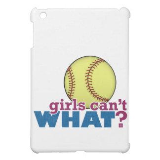Girls Softball Case For The iPad Mini
