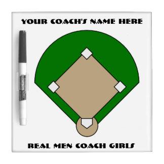 Girls' Softball Coach Dry Erase Board