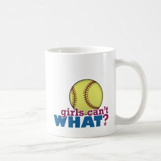 Girls Softball Coffee Mug