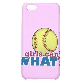 Girls Softball iPhone 5C Covers