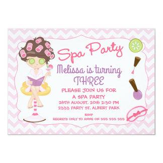 Girls Spa Party Invitations & Announcements | Zazzle