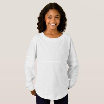 Beach Themed Girls' Spirit Jersey Shirt
