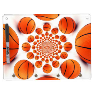 Girls' Sport-African Vintage Basket Hakuna matata Dry Erase Board With Keychain Holder