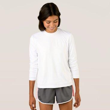 Beach Themed Girls' Sport-Tek Competitor Long Sleeve T-Shirt