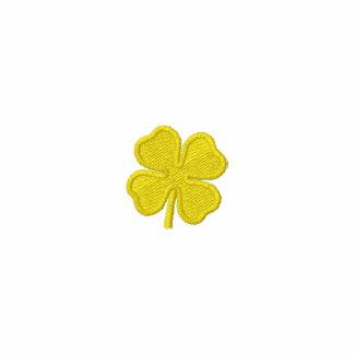 Girls St. Patricks Day Four Leaf Clover Zip Hoodie