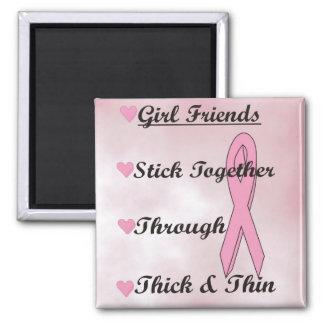 Girls Stick Together Refrigerator Magnets