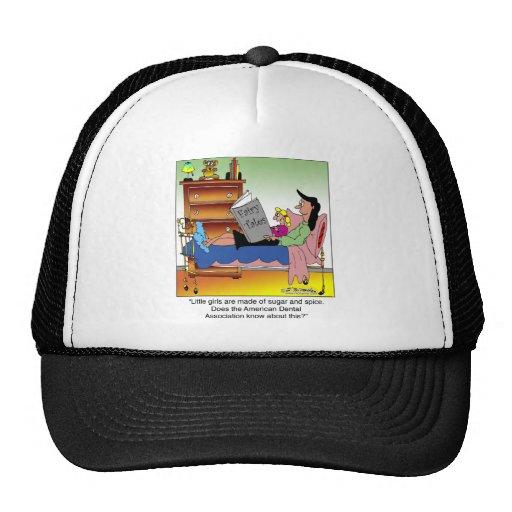 Girls, Sugar, Spice & Dentists Hat