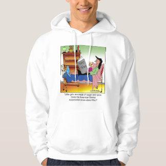 Girls, Sugar, Spice & Dentists Hooded Sweatshirt