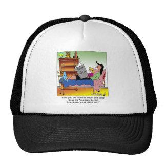 Girls, Sugar, Spice & Dentists Trucker Hat