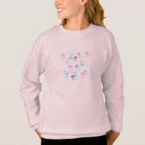 Girls' sweatshirt with jellyfishes