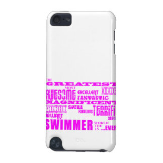 Girls Swimmers Pink Greatest Swimmer iPod Touch (5th Generation) Cover