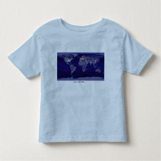 Girls T / Photo by NASA / earthlights Toddler T-shirt